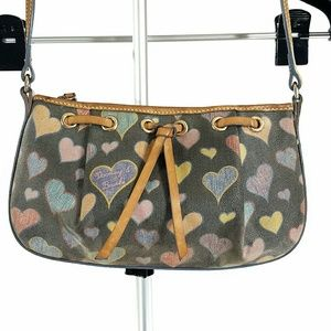 Dooney and Bourke Hearts Mini Bag